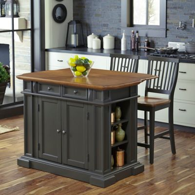 Buy Kitchen Island with Stools from Bed Bath Beyond – Kitchen Islands with Stools