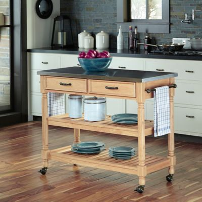 Buy Stainless Steel Kitchen Cart from Bed Bath & Beyond