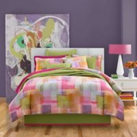 J by J. Queen New York Block Party King Comforter Set in Pink