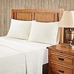 Premier Comfort Softspun All Seasons Queen Sheet Set in Ivory