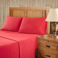 Premier Comfort Softspun All Seasons California King Sheet Set in Red