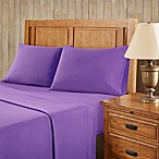 Premier Comfort Softspun All Seasons King Sheet Set in Purple