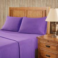 Premier Comfort Softspun All Seasons Twin XL Sheet Set in Purple