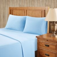 Premier Comfort Softspun All Seasons King Sheet Set in Blue