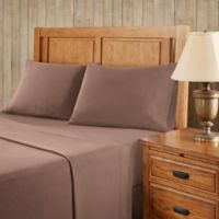 Premier Comfort Softspun All Seasons California King Sheet Set in Brown