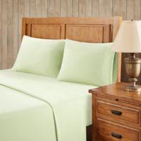 Premier Comfort Softspun All Seasons Full Sheet Set in Green
