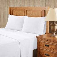 Premier Comfort Softspun All Seasons Twin Sheet Set in White