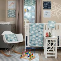 Glenna Jean Lil Sailboat 4-Piece Crib Bedding Set