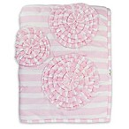 Hello Spud Paris Baby Flower Quilt in Pink