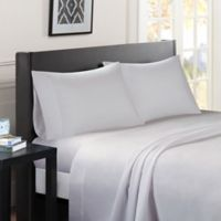 Madison Park Essentials Micro Splendor Twin Sheet Set in Ivory