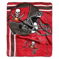 NFL Tampa Bay Buccaneers Royal Plush Raschel Throw