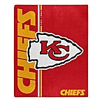 NFL Kansas City Chiefs Royal Plush Raschel Throw