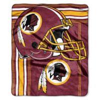 NFL Washington Redskins Royal Plush Raschel Throw