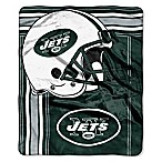 NFL New York Jets Royal Plush Raschel Throw