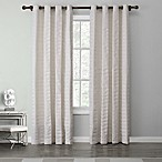 Tyler 84-Inch Grommet Top Window Curtain Panel in Winter White