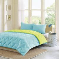 Intelligent Design Trixie 2-Piece Twin/Twin XL Comforter Set in Aqua