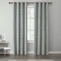 Tyler 84-Inch Grommet Top Window Curtain Panel in Spa