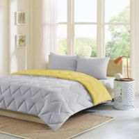 Intelligent Design Trixie 3-Piece Full/Queen Comforter Set in Grey