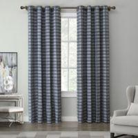 Tyler 84-Inch Grommet Top Window Curtain Panel in Indigo