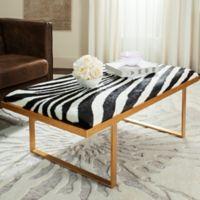 Safavieh Millie Loft Bench in Zebra