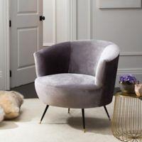 Safavieh Arlette Accent Chair in Grey