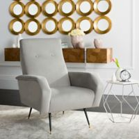 Safavieh Aida Accent Chair in Grey