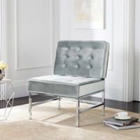 Safavieh Ansel Accent Chair in Light Grey