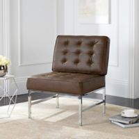 Safavieh Ansel Accent Chair in Antique Taupe