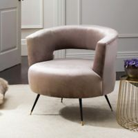 Safavieh Manet Velvet Accent Chair in Hazelwood