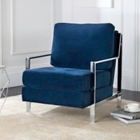 Safavieh Walden Accent Chair in Navy