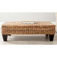 Safavieh Leary Bench in Natural