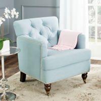 Safavieh Colin Club Chair in Sky Blue