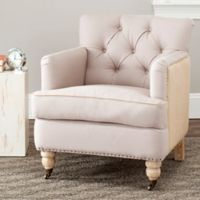 Safavieh Colin Club Chair in Taupe/Beige