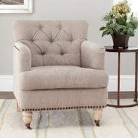 Safavieh Colin Club Chair in Taupe