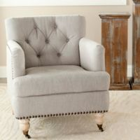 Safavieh Colin Club Chair in Stone Grey