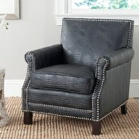 Safavieh Easton Arm Chair in Black