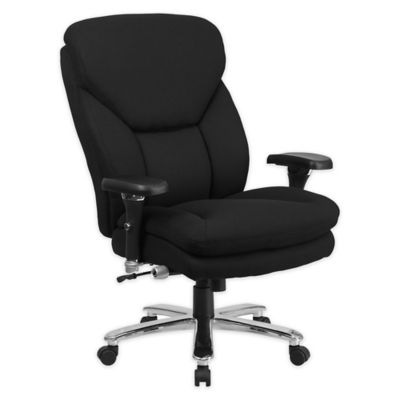 flash furniture fabric swivel chair with lumbar support knob in black