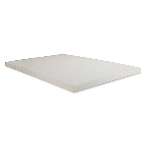 buy independent sleep full size 2 inch memory foam mattress topper from bed bath beyond. Black Bedroom Furniture Sets. Home Design Ideas