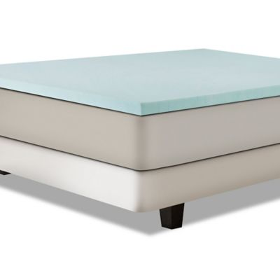 independent sleep twin 2inch gel memory foam mattress topper