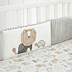 Levtex Baby Kenya 4-Piece Crib Bumper Set in Grey