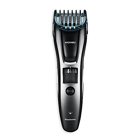 panasonic men 39 s all in one electric trimmer in black bed bath beyond. Black Bedroom Furniture Sets. Home Design Ideas