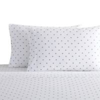 Coastal Living Floret Full Sheet Set in Blue/White
