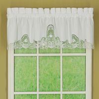 Annabelle Window Valance in White