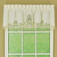 Annabelle Window Valance in Ecru