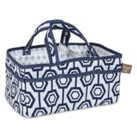 Trend Lab® Hexagon Storage Caddy in Blue/White