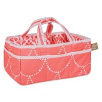 Trend Lab® Shell Storage Caddy in Coral/White