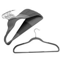 Studio 3B™ 40-Count Slim Grip™ Hangers in Grey
