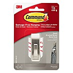 3M Command™ Damage-Free Hanging Small Wall Hook in Brushed Nickel