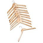 10-Pack Shirt Hangers in Blonde
