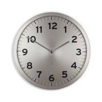 Umbra Anytime Wall Clock in Nickel